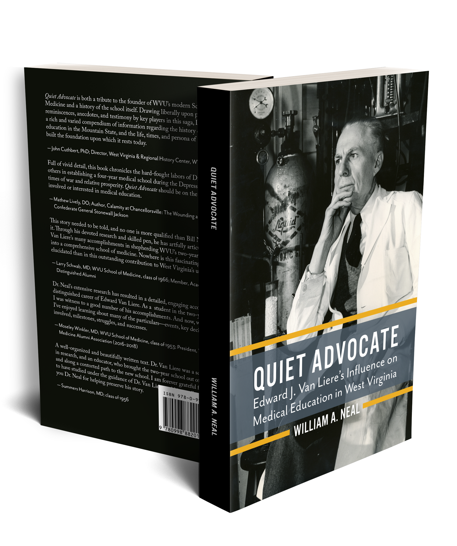 Quiet Advocate Book Cover Design